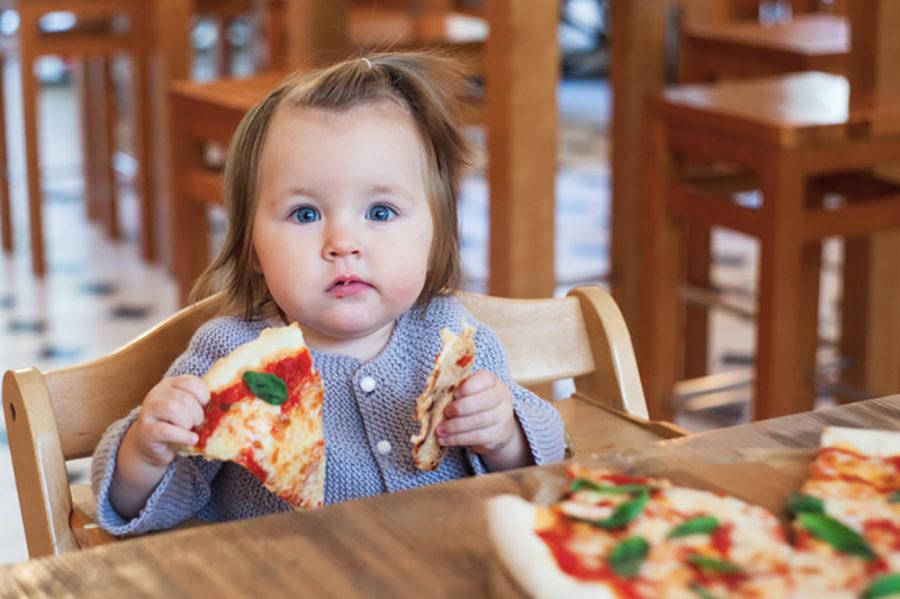 Pizza e bambini: Un alimento adatto anche ai più piccoli?